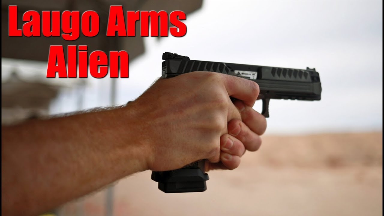 Laugo Arms Alien Pistol First Shots: Shot Show 2020
