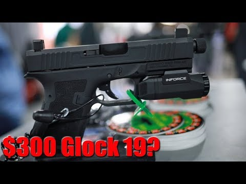 Palmetto State PS9 Dagger: The $300 Glock 19 At Shot Show 2020
