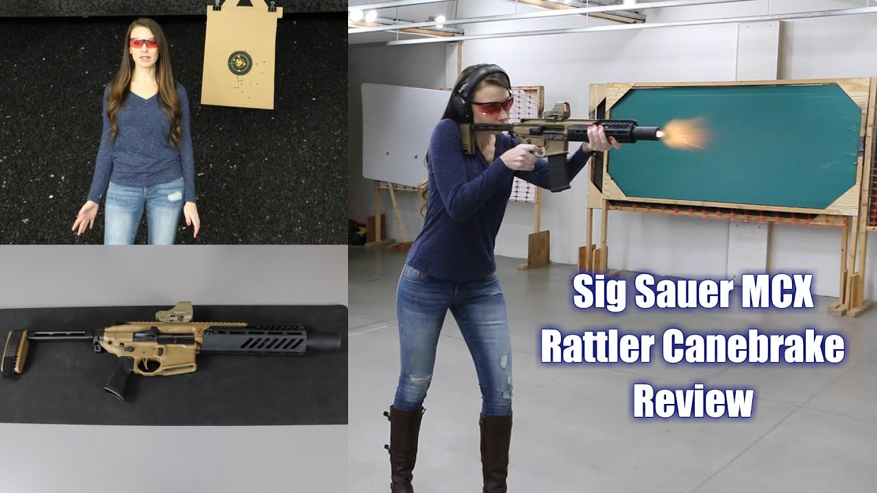 Sig MCX Rattler Canebrake Review - It's a little Spitfire!