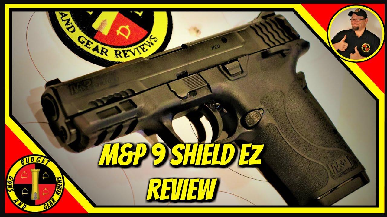 M&P Shield 9mm EZ Review- A Quick Look