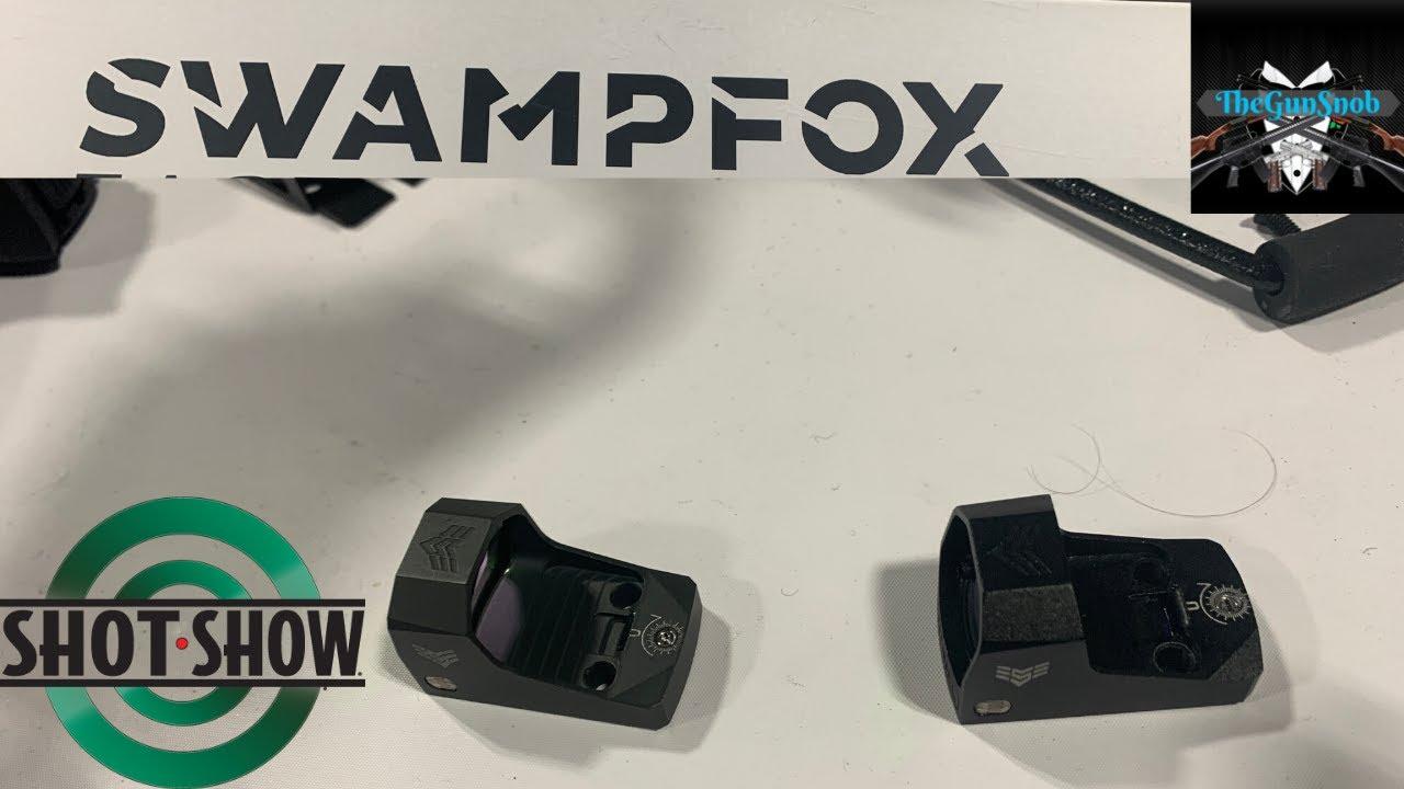 Swampfox Optics Sentinel an optic for sub compact carry guns.