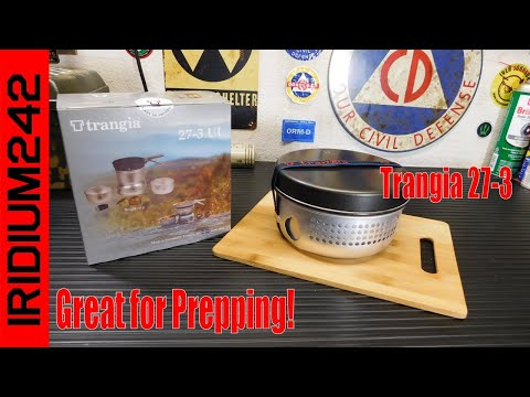TRANGIA 27 3 Ultralight Alcohol Stove   Good For Camp Or Preppers!