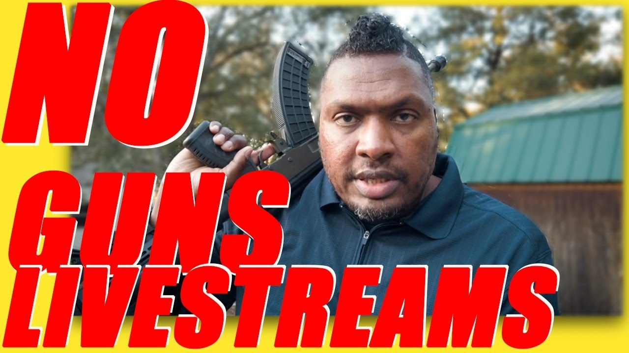 New Policy For Firearms When Live Streaming on YouTube 2020