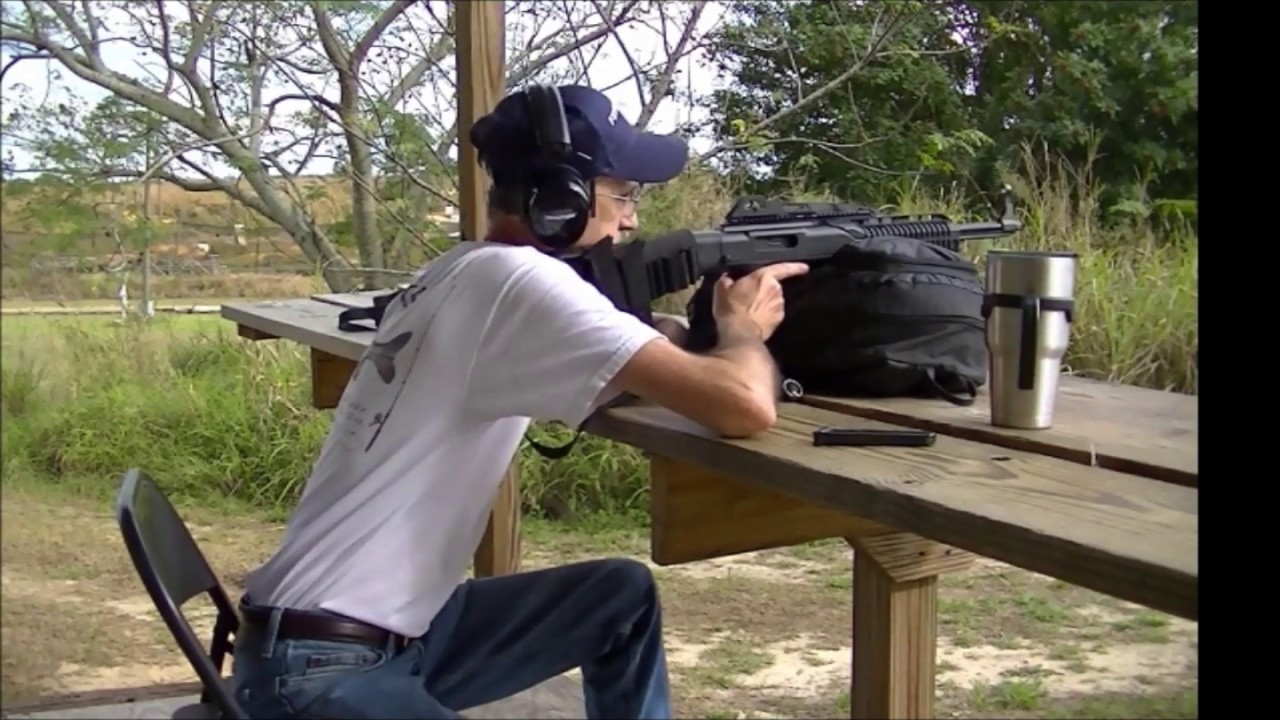 Shooting Hi-Point 995TS 9mm Carbine - The Ape Gun
