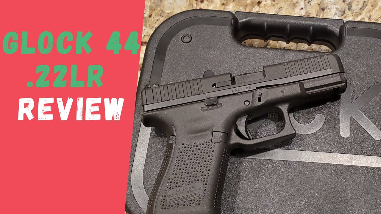 Glock 44 22LR Review   How Reliable Is The Glock 44?