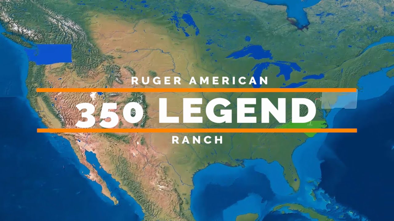 Ruger American Ranch 350 Legend vs Nacho Cheese