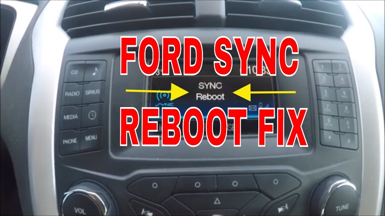 Ford Sync Bluetooth Fix