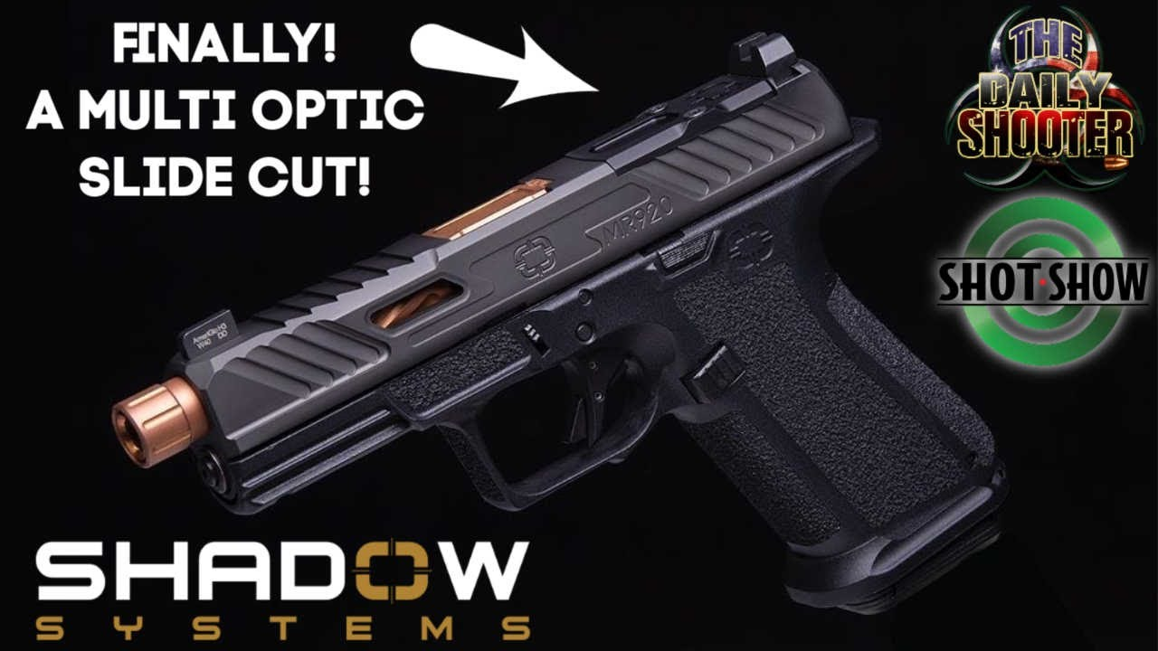 NEW Shadow Systems MR920 with Nearly Universal Optics Cut!