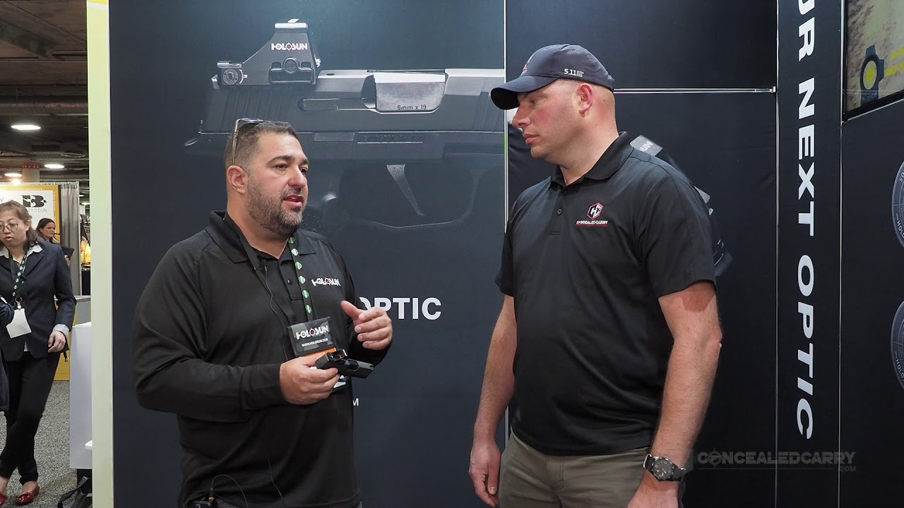 Are the Holosun 407K and 507K Game Changers? - SHOT Show 2020