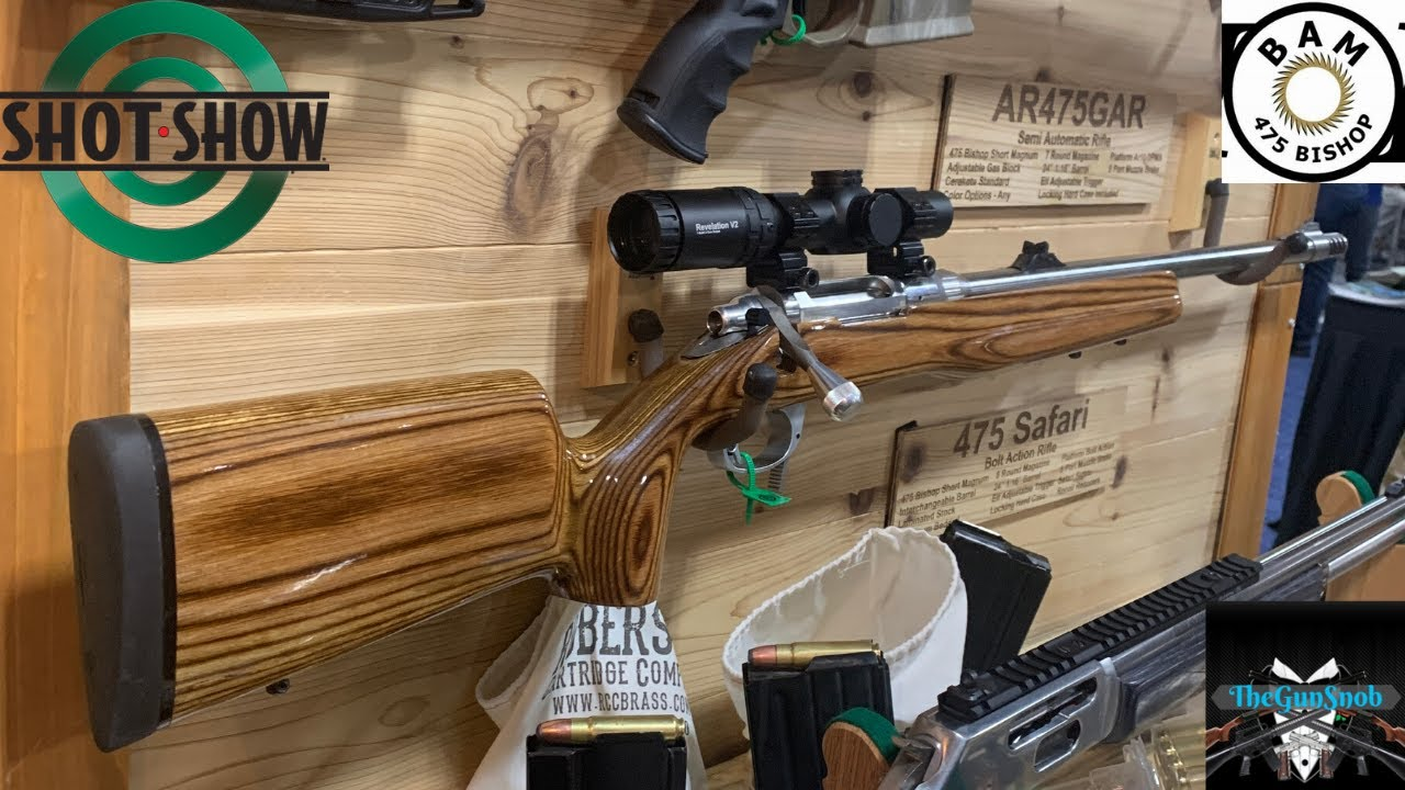 475 Safari Bolt Action Rifle From Bishop Ammunition and Firearms
