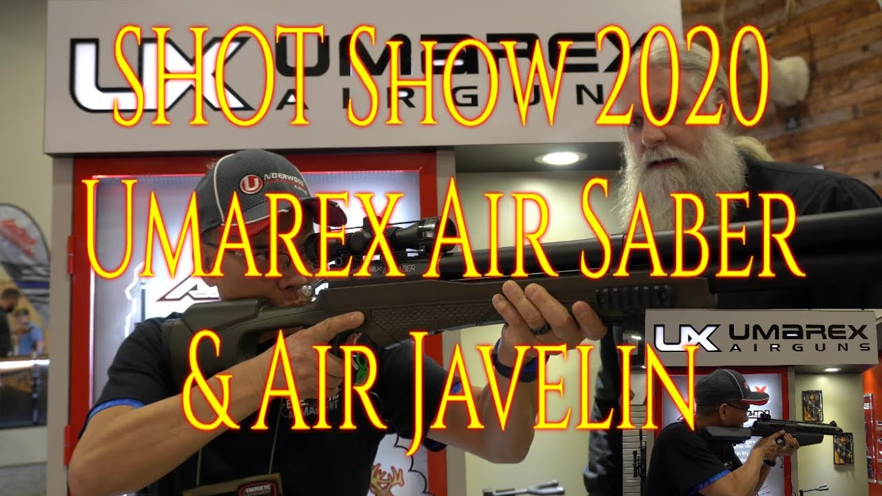 SHOT Show 2020 Umarex Air Saber and Air Javelin