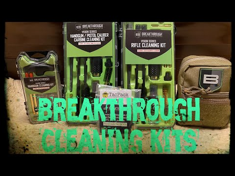 Breakthrough Clean Kits, best firearm cleaning product👌🏽