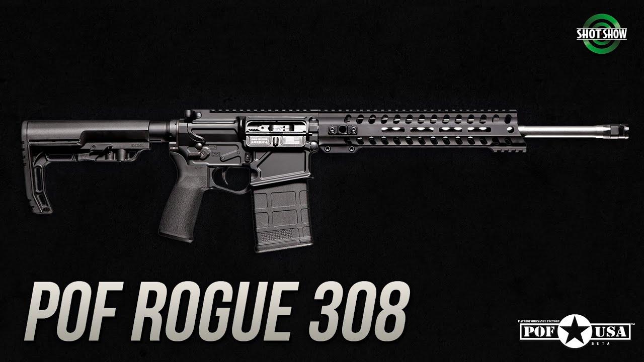 POF Rogue .308 Under 6lbs! - SHOT Show 2020