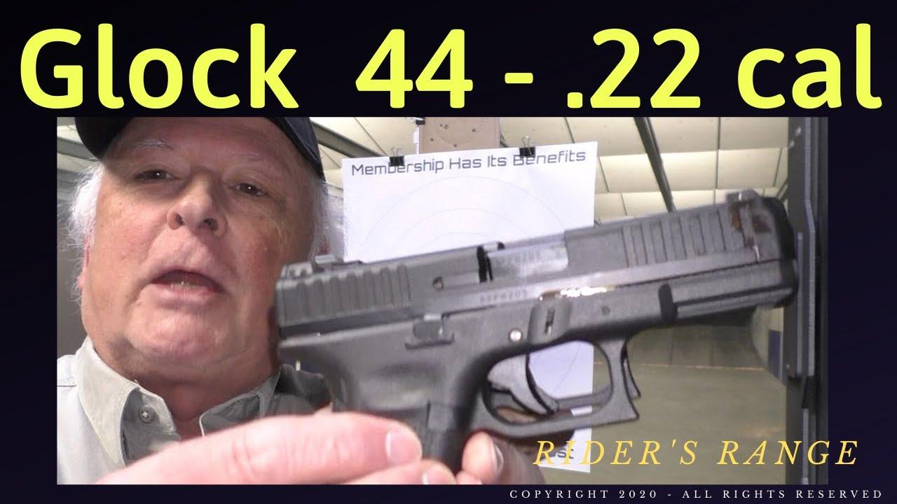 Glock 44 - Rider's Range First Shots
