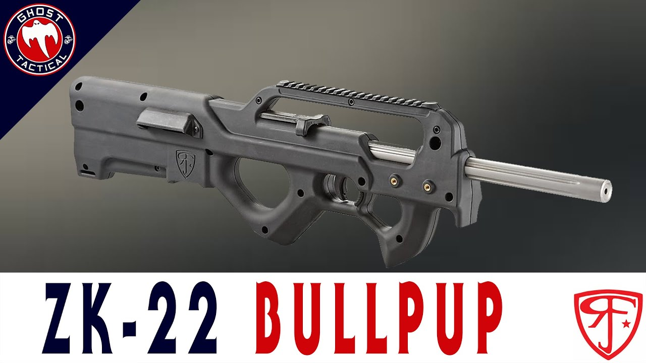 ZK-22 Bullpup (The Poor Man's FN P90)