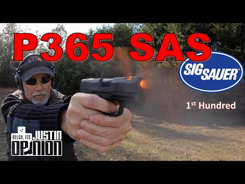 SIG P365 SAS - 1st Hundred