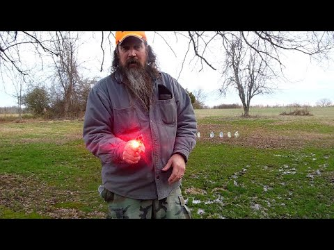 Shooting Charter Arms Bulldog w/Crimson Trace