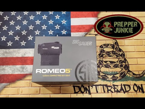 Sig Sauer Romeo 5 Review | Best Budget Red Dot On The Market?