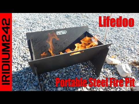 Lifedoo Portable Steel Fire Pit:  Very Handy!