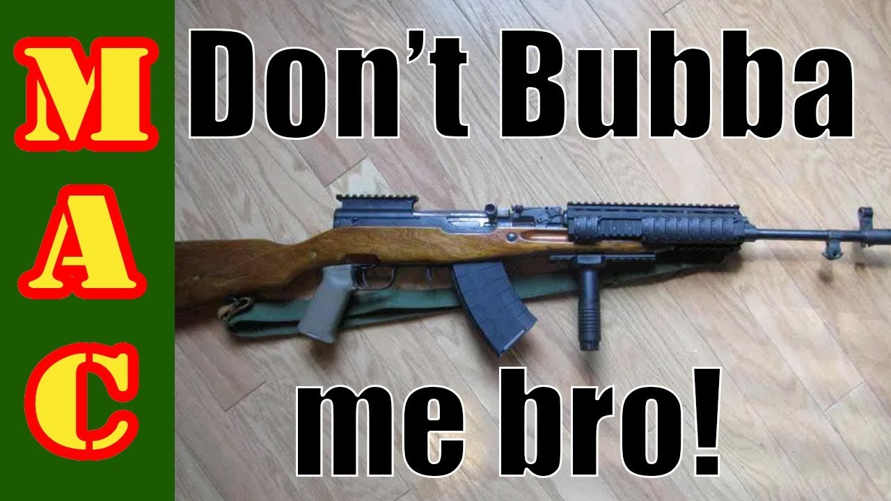 Don't Bubba me bro!!! Trying to make a SKS into an AK.