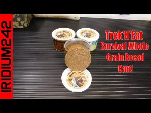 Trek'N'Eat Militar Survival Whole Grain Bread Can!