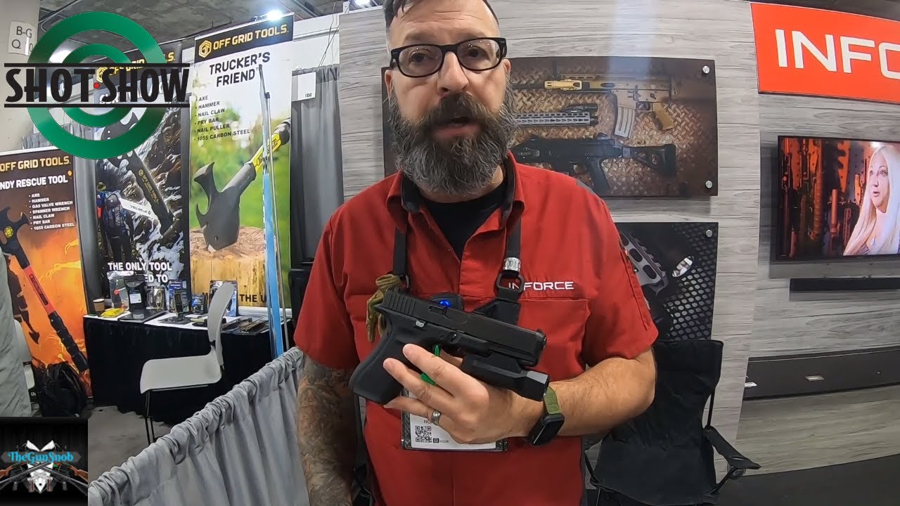 New Inforce aluminium body Rifle and Pistol lights at SHOT Show 2020