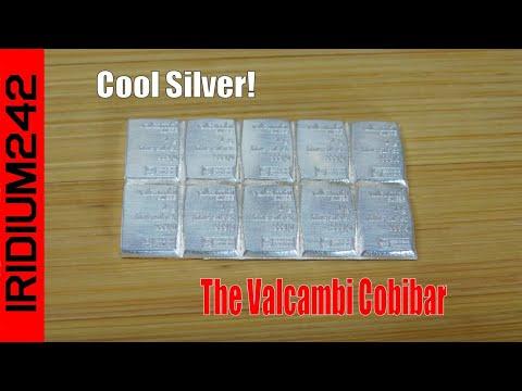 Valcambi 10 Gram Pure 99 9% SILVER Combibar