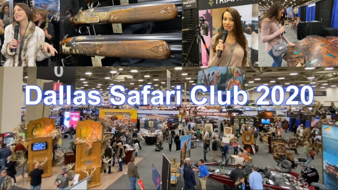 Dallas Safari Club 2020 - Out Of My Element!
