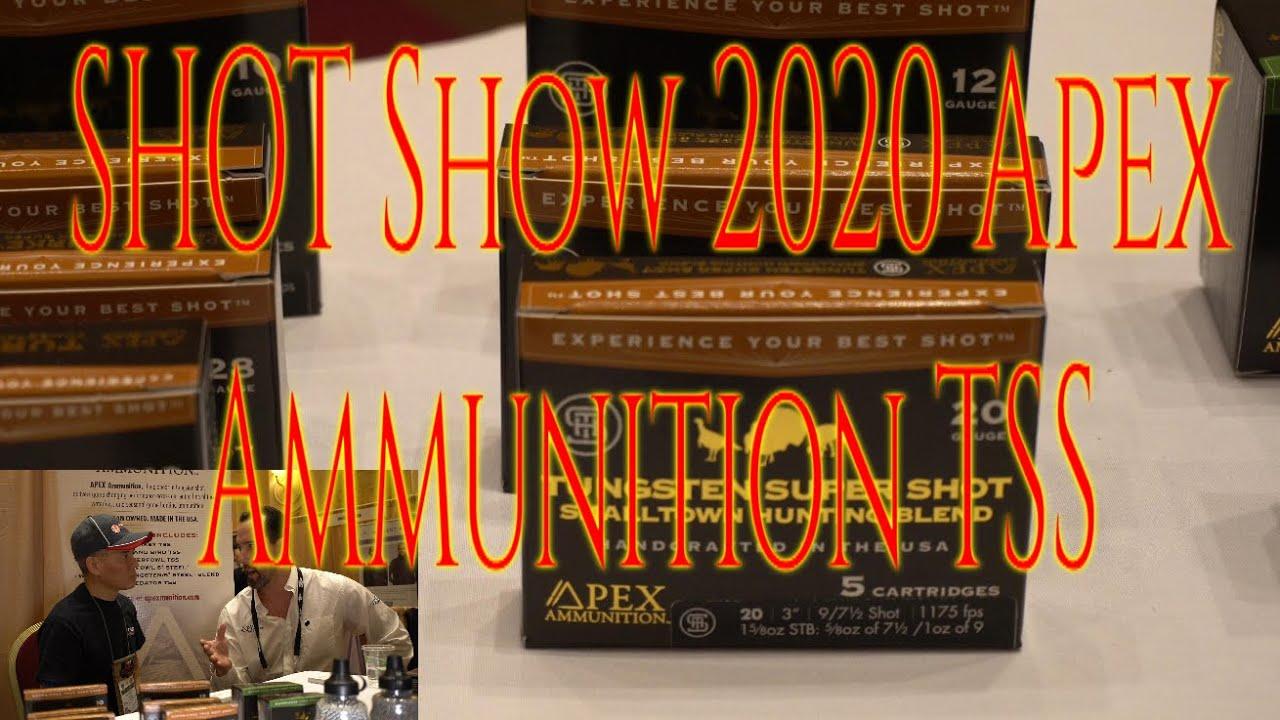 SHOT Show 2020 Apex Ammunition