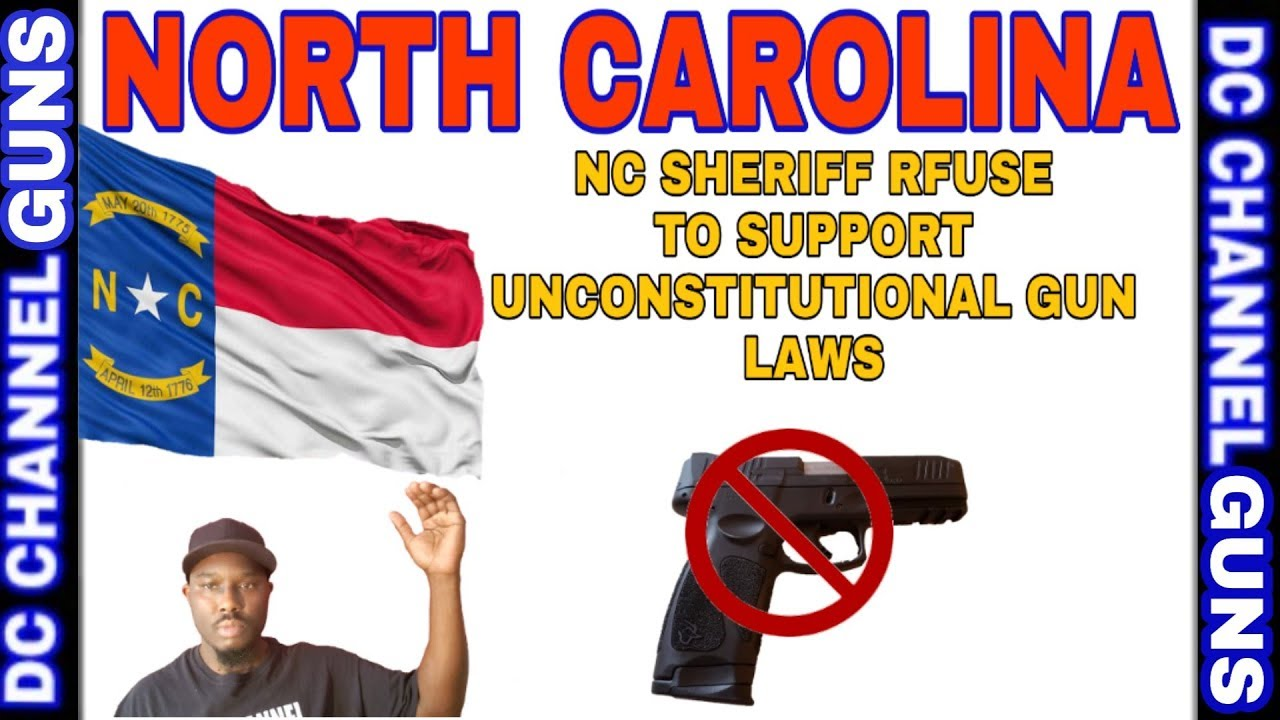 North Carolina 2A Sanctuary | Sheriff's Want Support Unconstitutional Gun Laws | GUNS