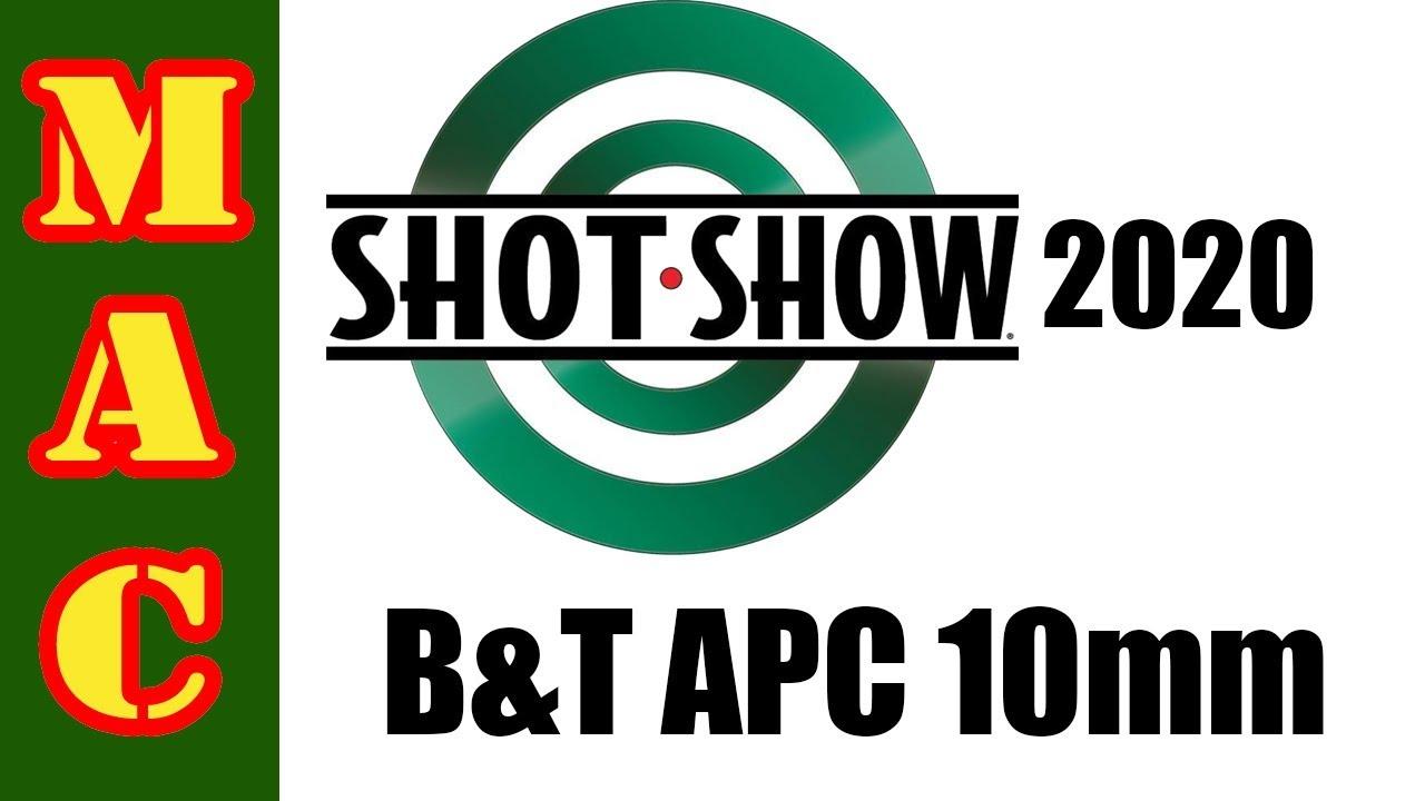 NEW! B&T APC10 in 10mm!