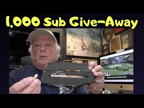 1,000 Subscriber Give-Away Contest - Rider's Range