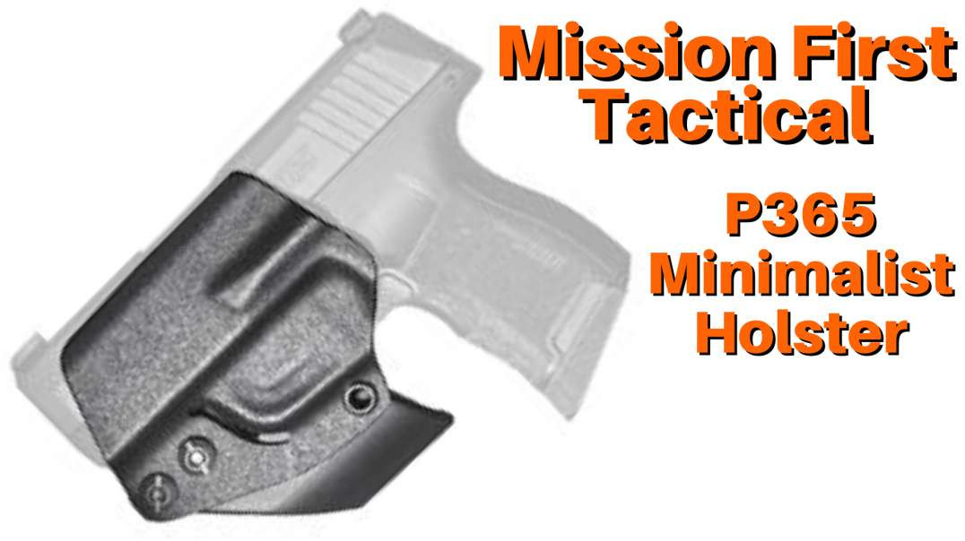 Mission First Tactical Minimalist Holster P365