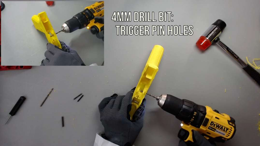 f17 assembly 3: drill holes