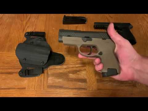 Sig P320 Grip module change - Versatility and ability to change to suit you!