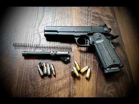 RIA 22TCM & 9MM 1911 Handgun Thoughts & Shots Review