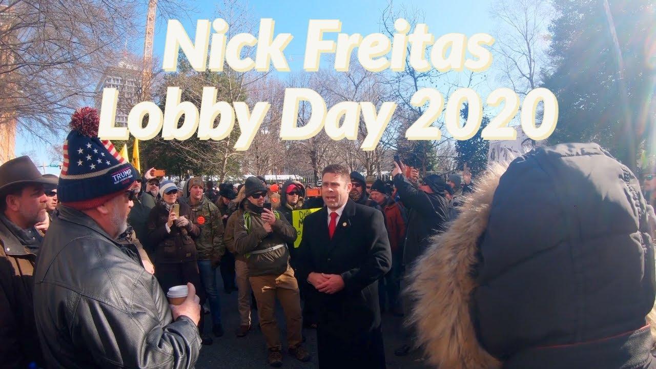 Nick Freitas Speaks To The People