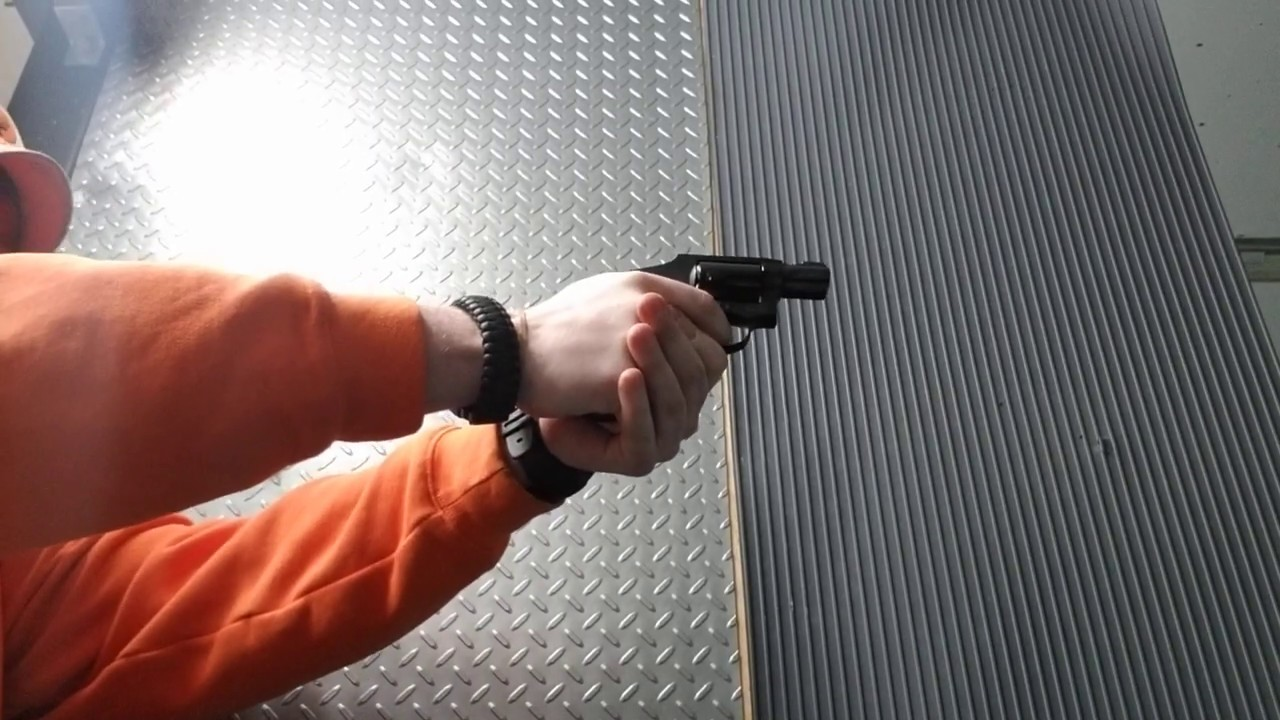 S&W MP 340 357 MAGNUM HAND CANNON!