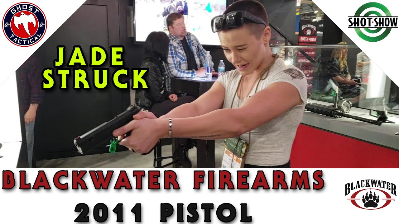 BLACKWATER Firearms 2011 pistol With Jade Struck:  SHOT Show 2020