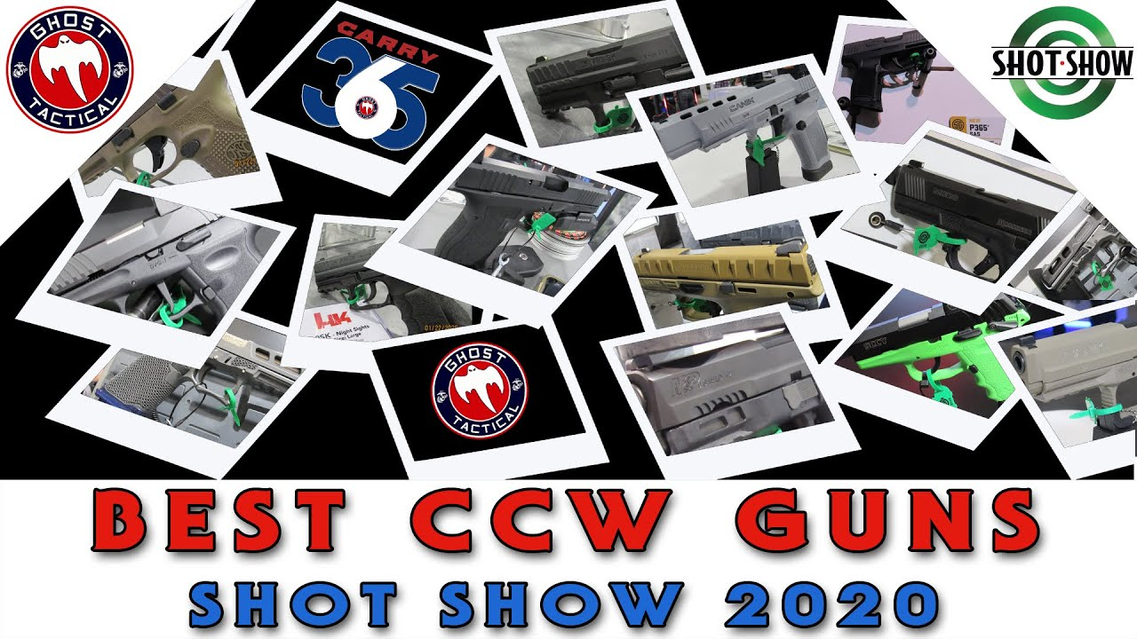 Best CCW Guns At SHOT Show 2020
