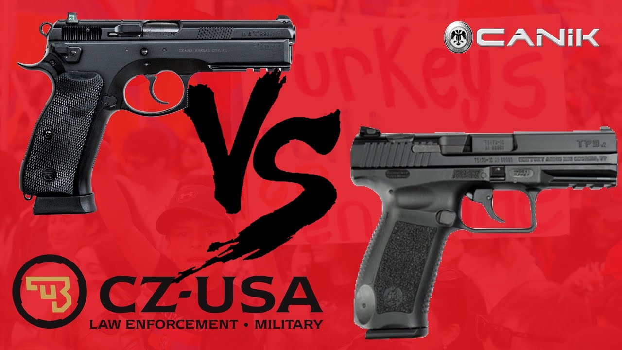 TP9V2 Compared With CZ75 SP01