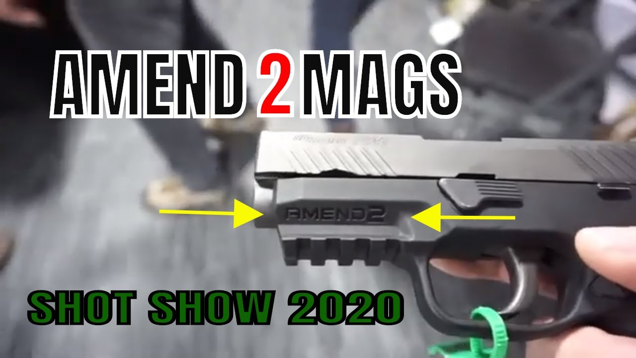 Smaller P320 / Amend2Mags S300 Hybrid Grip Module / Shot Show 2020