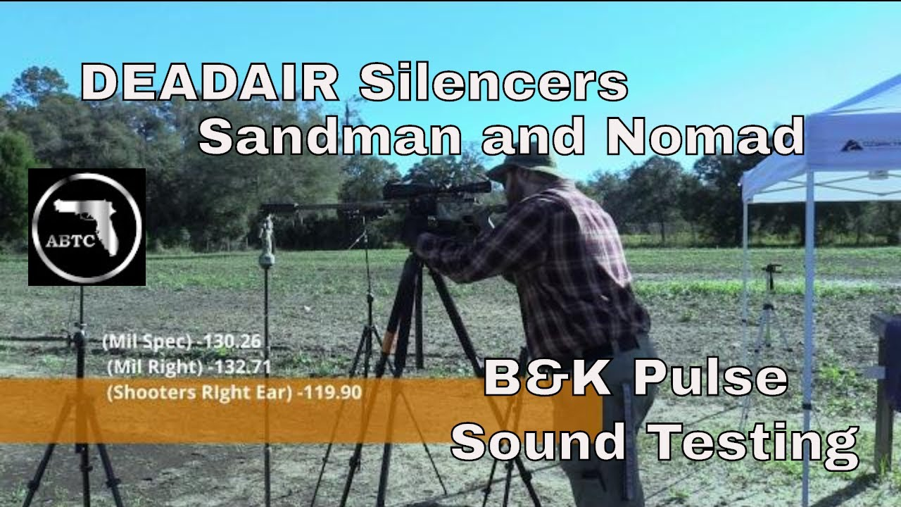 DEADAIR Silencers dB samples on the Howa HCR1500
