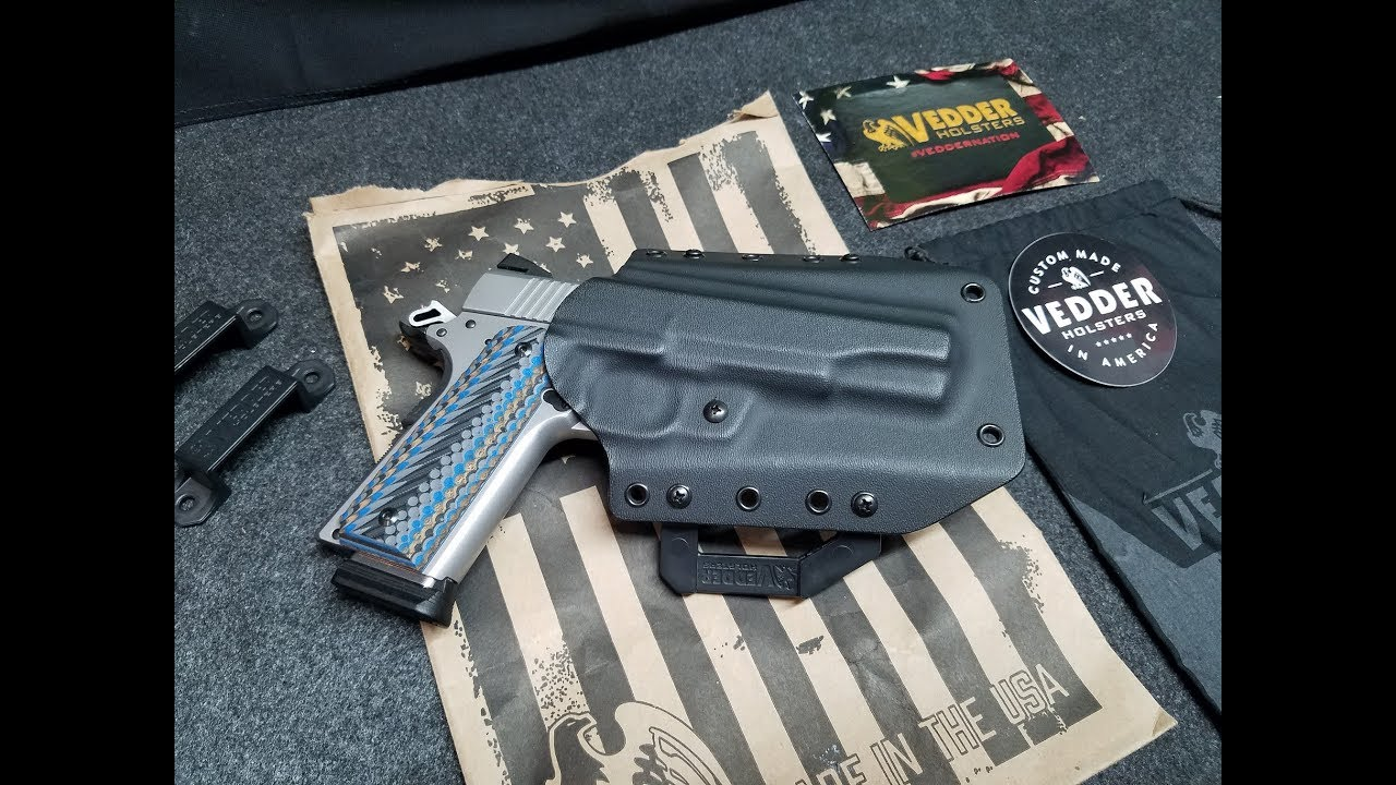 Vedder 1911 LightDraw OWB Holster Unboxing & Review
