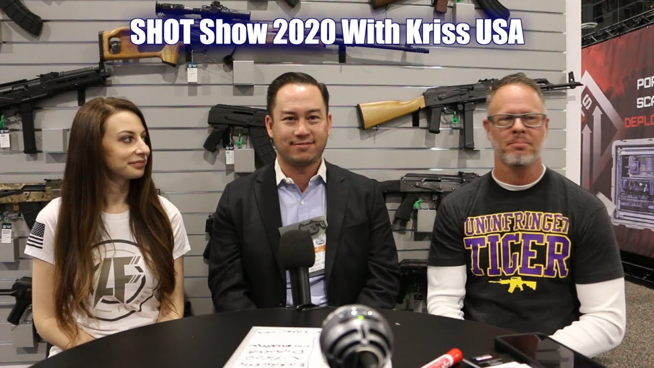 Kriss USA Livestream from SHOT Show 2020 - Kriss Vector 22lr