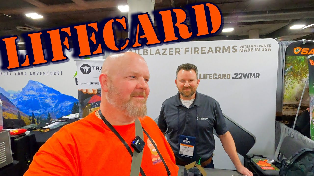 The Carry Anywhere LifeCard SHOT Show 2020