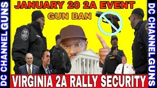 Virginia 2A Rally Security People Fear Another Charlottesville | GUNS
