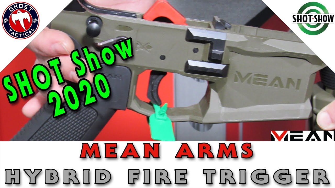 Best Trigger At SHOT Show 2020:  Mean Arms