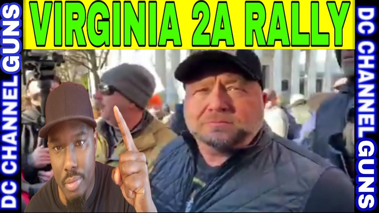 Alex Jones Attended Virginia 2A Lobby Day What He Said... | GUNS