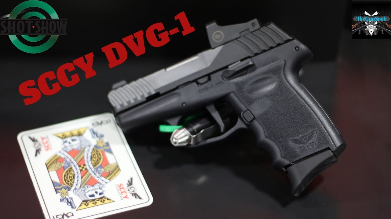 The New SCCY DVG-1 From SHOT Show 2020